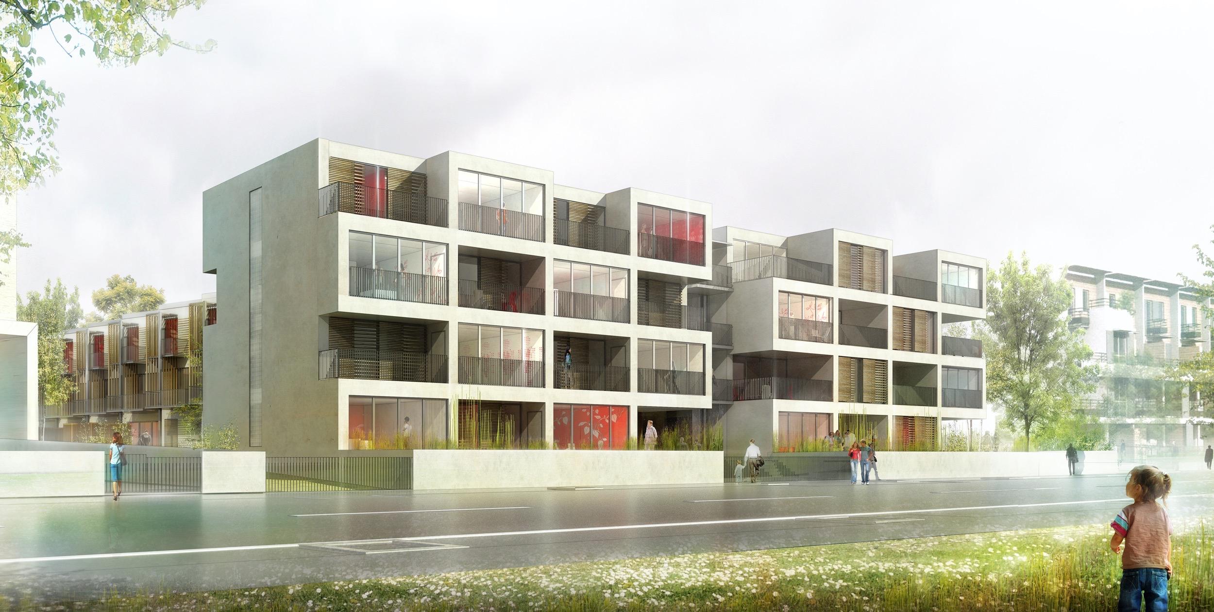 Dijon 40 logements collectifs et intermédiaires