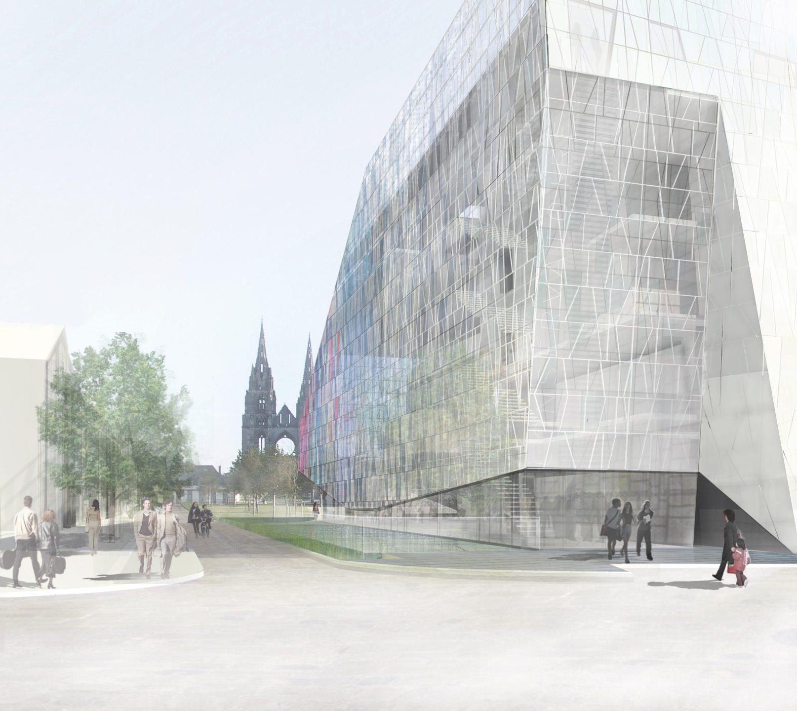 Soissons : Conservatoire et salle philharmonique